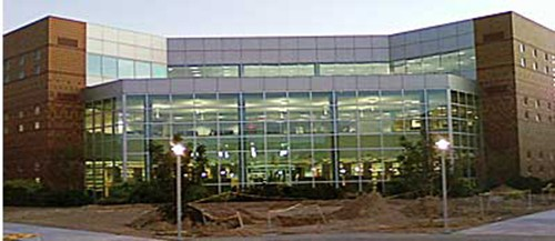 commercial building with lots of glass